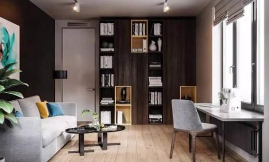 灰色+木色的家居设计 不一样的视觉碰撞 尽显高级感