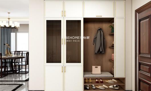 佰怡家设计案例:小户型新中式怎么装出大气感